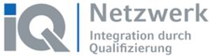 """Logo mit den Worten """"IQ-Netzwerk"""""""