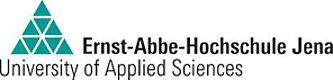 Es wird das Logo der Ernst-Abbe-Hohchschule Jena angezeigt.