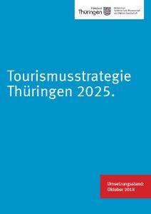 Cover Projektkatalog Tourismusstrategie 2025