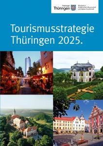 Cover der Tourismusstrategie Thüringen 2025