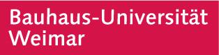 Es wird das Logo der Bauhaus-Universität Weimar angezeigt.
